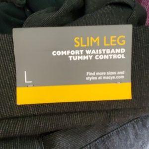 JM Collection Pants - NEW JM COLLECTION SIZE LARGE L SLIM LEG WORK PANTS
